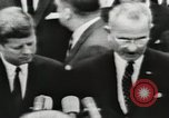 Image of White House award ceremony United States USA, 1963, second 19 stock footage video 65675021469