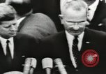 Image of White House award ceremony United States USA, 1963, second 24 stock footage video 65675021469