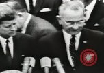 Image of White House award ceremony United States USA, 1963, second 25 stock footage video 65675021469