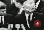Image of White House award ceremony United States USA, 1963, second 26 stock footage video 65675021469