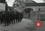 Image of 4th Infantry troops Romney France, 1918, second 9 stock footage video 65675021483