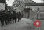 Image of 4th Infantry troops Romney France, 1918, second 10 stock footage video 65675021483