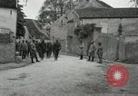 Image of 4th Infantry troops Romney France, 1918, second 23 stock footage video 65675021483