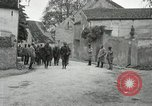 Image of 4th Infantry troops Romney France, 1918, second 25 stock footage video 65675021483