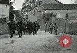 Image of 4th Infantry troops Romney France, 1918, second 29 stock footage video 65675021483