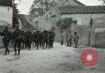Image of 4th Infantry troops Romney France, 1918, second 30 stock footage video 65675021483
