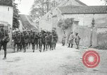 Image of 4th Infantry troops Romney France, 1918, second 31 stock footage video 65675021483