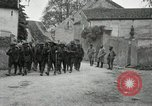 Image of 4th Infantry troops Romney France, 1918, second 32 stock footage video 65675021483