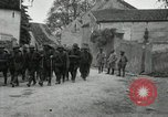 Image of 4th Infantry troops Romney France, 1918, second 33 stock footage video 65675021483
