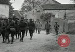 Image of 4th Infantry troops Romney France, 1918, second 39 stock footage video 65675021483