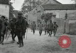 Image of 4th Infantry troops Romney France, 1918, second 41 stock footage video 65675021483