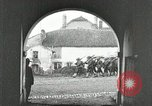 Image of United States troops march in French town in World War 1 France, 1918, second 2 stock footage video 65675021505