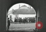 Image of United States troops march in French town in World War 1 France, 1918, second 3 stock footage video 65675021505