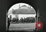 Image of United States troops march in French town in World War 1 France, 1918, second 4 stock footage video 65675021505