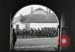 Image of United States troops march in French town in World War 1 France, 1918, second 5 stock footage video 65675021505