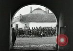 Image of United States troops march in French town in World War 1 France, 1918, second 6 stock footage video 65675021505