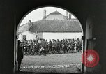 Image of United States troops march in French town in World War 1 France, 1918, second 7 stock footage video 65675021505