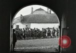 Image of United States troops march in French town in World War 1 France, 1918, second 8 stock footage video 65675021505
