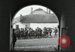 Image of United States troops march in French town in World War 1 France, 1918, second 9 stock footage video 65675021505