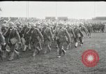 Image of United States troops march in French town in World War 1 France, 1918, second 10 stock footage video 65675021505