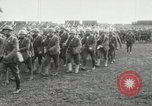 Image of United States troops march in French town in World War 1 France, 1918, second 12 stock footage video 65675021505