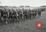 Image of United States troops march in French town in World War 1 France, 1918, second 15 stock footage video 65675021505