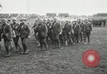 Image of United States troops march in French town in World War 1 France, 1918, second 16 stock footage video 65675021505
