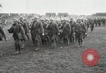 Image of United States troops march in French town in World War 1 France, 1918, second 17 stock footage video 65675021505