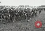 Image of United States troops march in French town in World War 1 France, 1918, second 18 stock footage video 65675021505