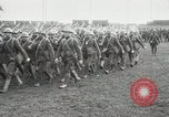 Image of United States troops march in French town in World War 1 France, 1918, second 19 stock footage video 65675021505