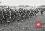Image of United States troops march in French town in World War 1 France, 1918, second 20 stock footage video 65675021505