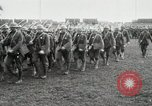 Image of United States troops march in French town in World War 1 France, 1918, second 22 stock footage video 65675021505