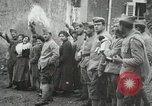 Image of United States troops march in French town in World War 1 France, 1918, second 26 stock footage video 65675021505