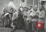 Image of United States troops march in French town in World War 1 France, 1918, second 27 stock footage video 65675021505