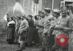 Image of United States troops march in French town in World War 1 France, 1918, second 29 stock footage video 65675021505