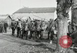Image of United States troops march in French town in World War 1 France, 1918, second 32 stock footage video 65675021505