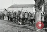 Image of United States troops march in French town in World War 1 France, 1918, second 33 stock footage video 65675021505