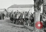 Image of United States troops march in French town in World War 1 France, 1918, second 35 stock footage video 65675021505