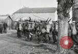 Image of United States troops march in French town in World War 1 France, 1918, second 36 stock footage video 65675021505
