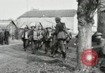 Image of United States troops march in French town in World War 1 France, 1918, second 38 stock footage video 65675021505