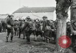 Image of United States troops march in French town in World War 1 France, 1918, second 40 stock footage video 65675021505