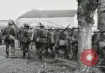 Image of United States troops march in French town in World War 1 France, 1918, second 41 stock footage video 65675021505