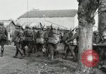 Image of United States troops march in French town in World War 1 France, 1918, second 42 stock footage video 65675021505