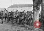 Image of United States troops march in French town in World War 1 France, 1918, second 43 stock footage video 65675021505