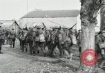 Image of United States troops march in French town in World War 1 France, 1918, second 45 stock footage video 65675021505
