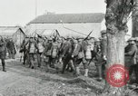 Image of United States troops march in French town in World War 1 France, 1918, second 47 stock footage video 65675021505