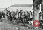 Image of United States troops march in French town in World War 1 France, 1918, second 48 stock footage video 65675021505