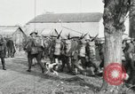 Image of United States troops march in French town in World War 1 France, 1918, second 49 stock footage video 65675021505