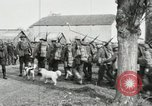 Image of United States troops march in French town in World War 1 France, 1918, second 50 stock footage video 65675021505