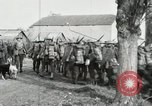 Image of United States troops march in French town in World War 1 France, 1918, second 51 stock footage video 65675021505